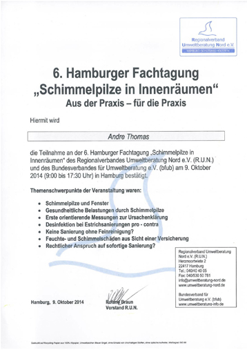6. Hamburger Fachtagung